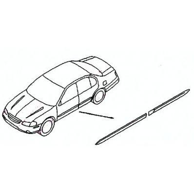 MODANATURA PARAURTI POSTERIORE FIAT PUNTO 99/>03 3PORTE